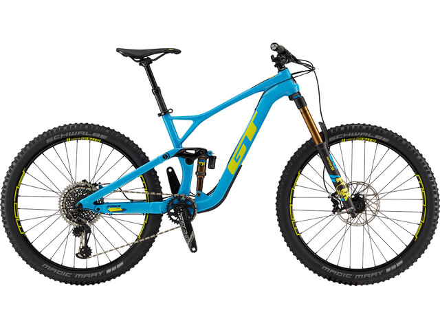 GT Bicycles Force Carbon Pro MTB Full Suspension blue